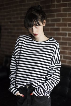 Oversized stripes longsleeve