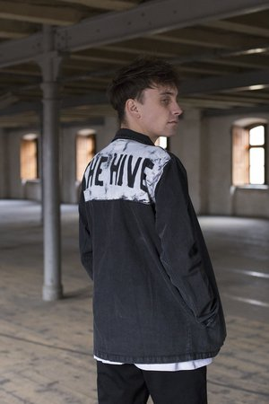 The Hive - GRAFFITI OVERSHIRT DENIM JACKET L.E.