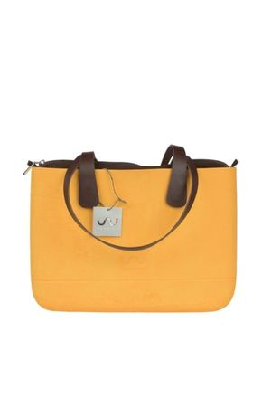 Doubleu bag - TORBA LARGE ROUGH YELLOW