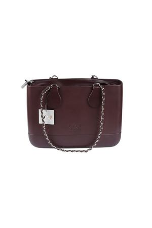 Doubleu bag - TORBA MEDIUM LUX BROWN