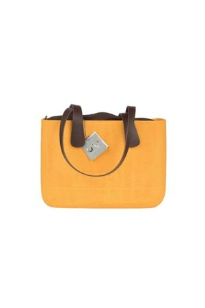 Doubleu bag - TORBA MEDIUM ROUGH YELLOW