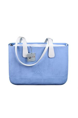 Doubleu bag - TORBA LARGE ROUGH BLUE