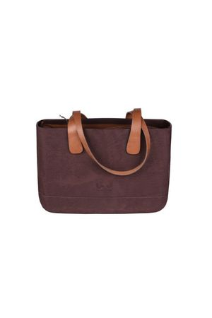 Doubleu bag - TORBA MEDIUM ROUGH BROWN