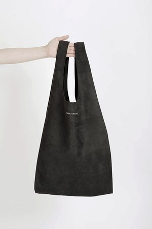PROUDLY DESIGNED - HOBO BAG - Czarna