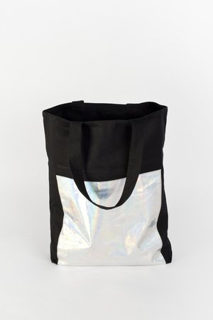 PROUDLY DESIGNED - HOLOGRAM BAG - Czarna