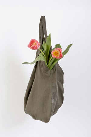 PROUDLY DESIGNED - LINEN BAG - Oliwkowa