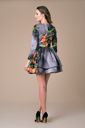 NAT Fashion Room - Sukienka Mini Azalea Bloosom Ombre