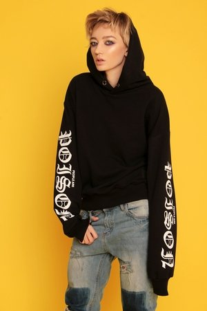Animals Wave - Poison Black Hoodie Bluza