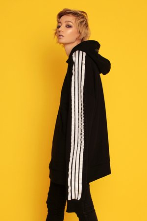 Animals Wave - Stripe Hoodie Bluza