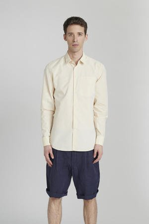 Delikatessen - PASTEL CREAM COTTON SHIRT