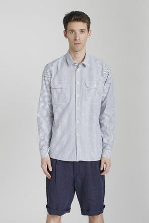 Delikatessen - STRIPED COTTON-OXFORD SHIRT