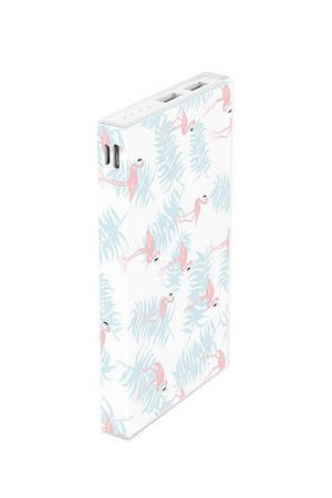 Creattack - Powerbank Pattern – Flamingo