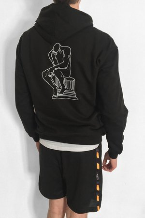 MSZZ - Philosophy Black Sweatshirt