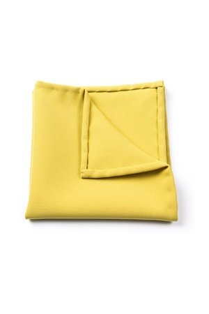 r3s men's accessories - POSZETKA BAWEŁNIANA GREEN YELLOW CLASSIC
