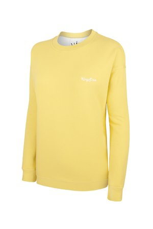 KingSize - SWEATSHIRT KINGSIZE YELLOW - OVERSIZE