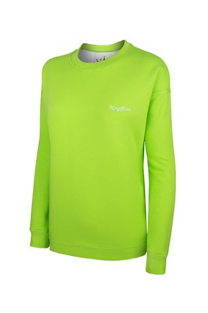 KingSize - SWEATSHIRT KINGSIZE GREEN - OVERSIZE
