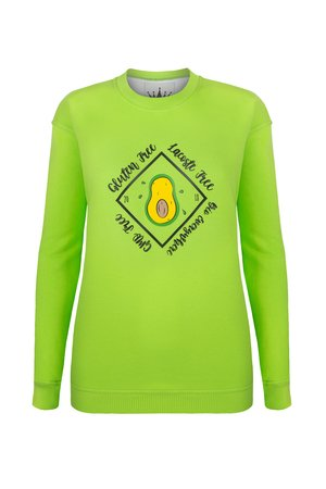 KingSize - SWEATSHIRT - AVOCADO - OVERSIZE