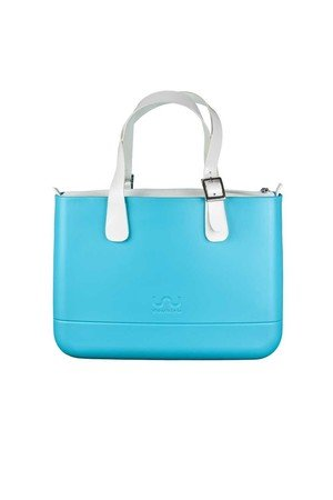 Doubleu bag - TORBA MEDIUM PRIMA TURQUOISE