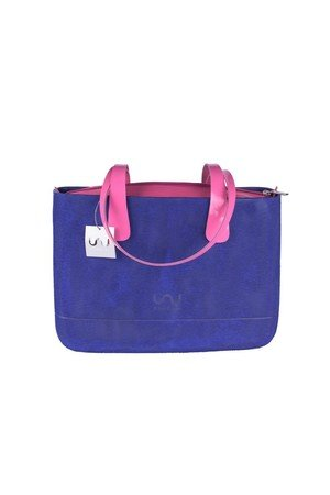 Doubleu bag - TORBA MEDIUM ROUGH INDIGO BLUE
