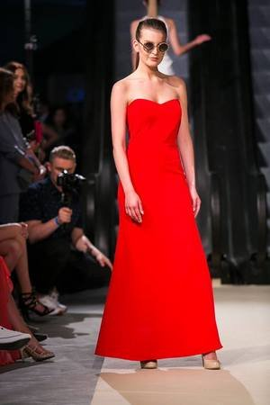 NAT Fashion Room - Sukienka Maxi Red