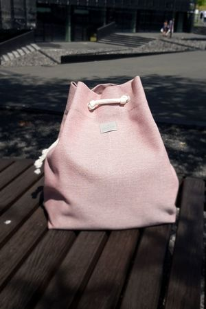 INTENSI - Plecak CITY BAG PINK