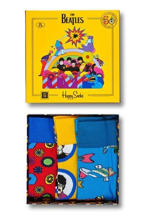 HAPPY SOCKS - Giftbox Happy Socks X The Beatles 50th Anniversary (XBEA08-2000)