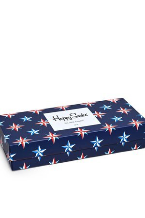 HAPPY SOCKS - Giftbox Happy Socks - Nautical 4Pack (XNAU09-6000)