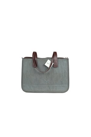 Doubleu bag - TORBA MEDIUM ROUGH SILVER