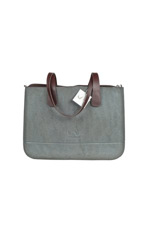 Doubleu bag - TORBA LARGE ROUGH SILVER
