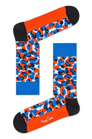 HAPPY SOCKS - Skarpetki Happy Socks x Wiz Khalifa - Black & Blue (WIZ01-6000)