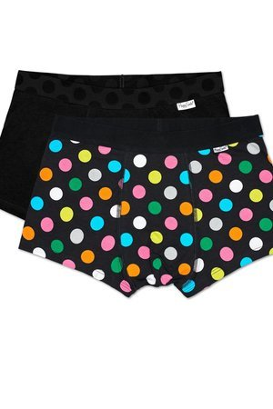 HAPPY SOCKS - Bielizna męska Happy Socks - 2Pack Big Dot Trunk (BDO96-9000)