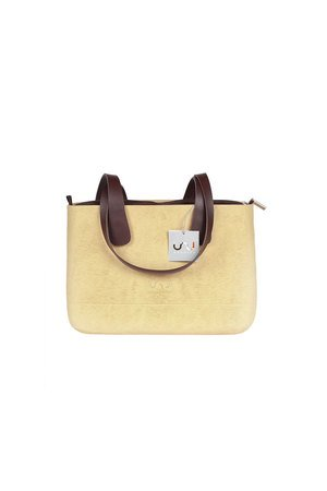 Doubleu bag - TORBA MEDIUM ROUGH BEIGE
