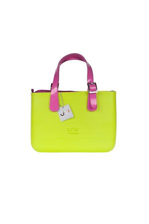 Doubleu bag - TORBA MEDIUM BASIC APPLE GREEN