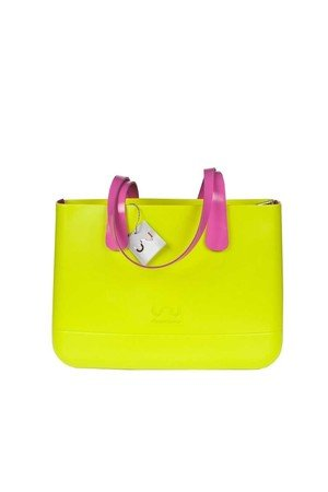 Doubleu bag - TORBA LARGE BASIC APPLE GREEN