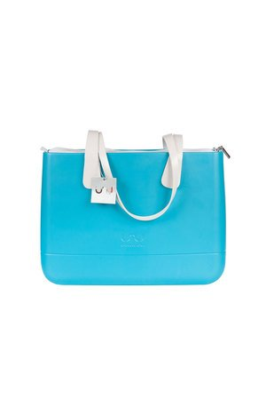 Doubleu bag - TORBA LARGE BASIC TURQUOISE