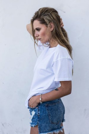 GAU great as You - NATURE WHITE t-shirt oversize