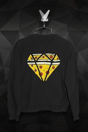 FailFake  - Bluza Pizza Diamend Męska