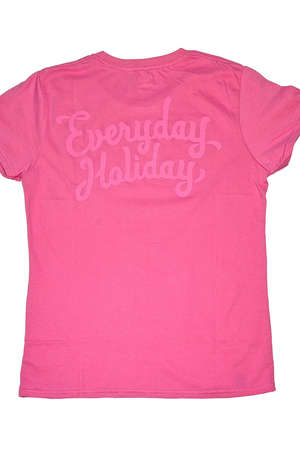 "Everyday Holiday - KOSZULKA EVERYDAY HOLIDAY ""AZALEA PINK"" DAMSKA"