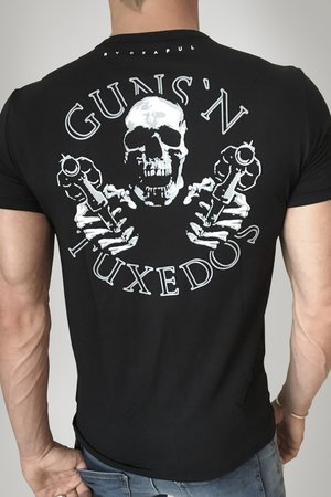 Guns&Tuxedos - T-SHIRT GUNSLINGER