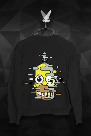 FailFake - Bluza Bender Simpsons Męska