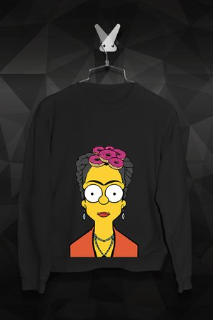 FailFake - Bluza Frida Simpsons - Damska