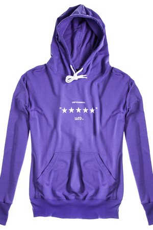 HARP TEAM - Bluza Hoodie Classic Unfvckinreal Violet
