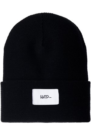 HARP TEAM - Czapka Beanie Black (White)